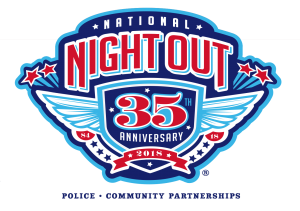 2018 National Night Out on Tuesday, August 7, 2018 from 6:00 - 7:30 p.m. at Westminster Presbyterian Church.